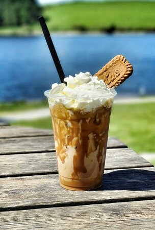 Biscoff iced coffee…