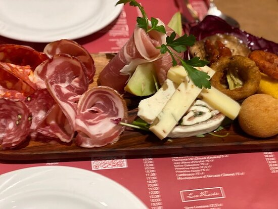 Antipasto all Italia, Gnocchi couteau, Festival pates