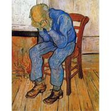 Van Gogh painting cries about the Immersive Experience