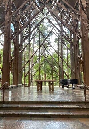Beautiful chapel! Enjoy a very peaceful visit!!