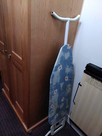 Bespoke ironing board.