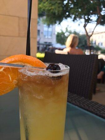 Delicious bourbon soaked cherry!