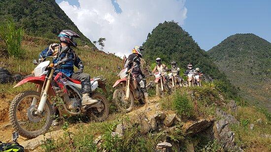 Ha Giang motorbike tour single track
