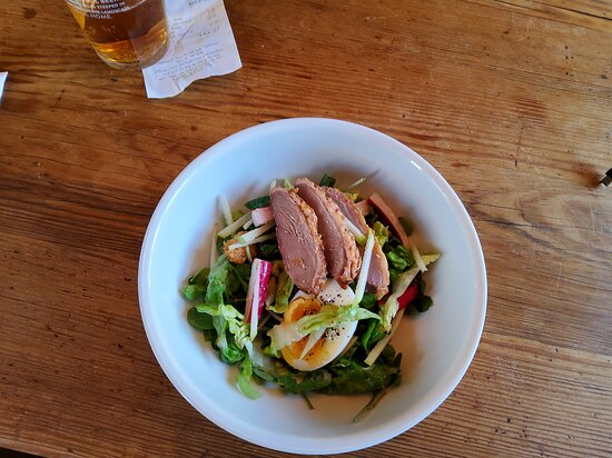 Smoked Duck Salad - better as a Main rather than a 'starter'
