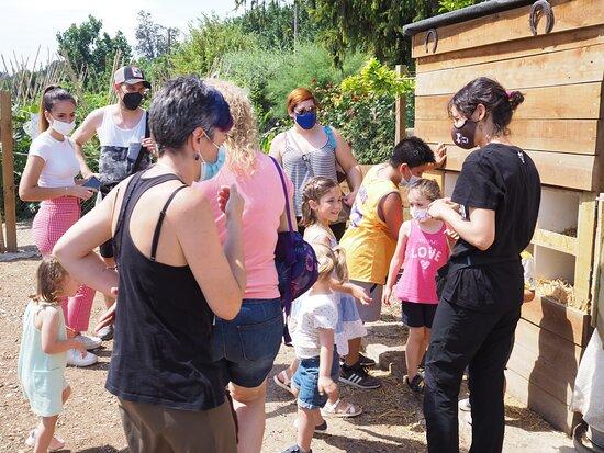ENGRÁNJATE es una experiencia agrocultural que puedes realizar a la Granja Pifarré. Para resrvas www.granjapifarre.com