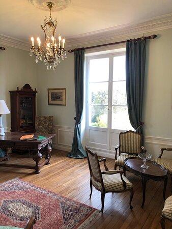 Bagnoles-de-l'Orne, Fransa: Albert Christophle suite, Living room