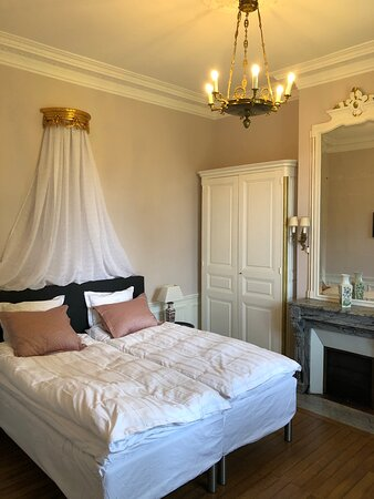 Bagnoles-de-l'Orne, Fransa: Albert Christophle suite, bed room