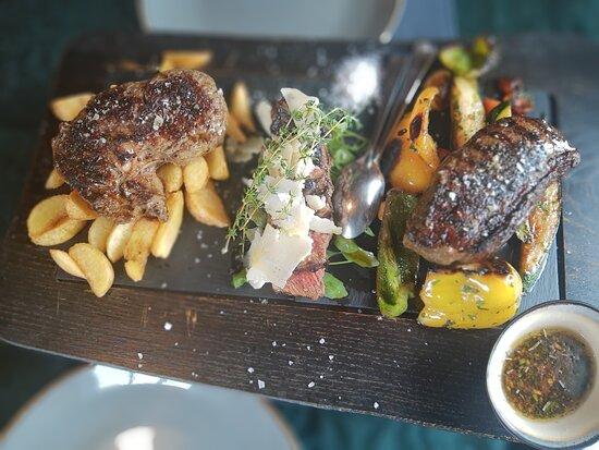 Sehr empfehlenswerte Steakrestaurant mit guter Auswahl an Fisch und Meeresfrüchten