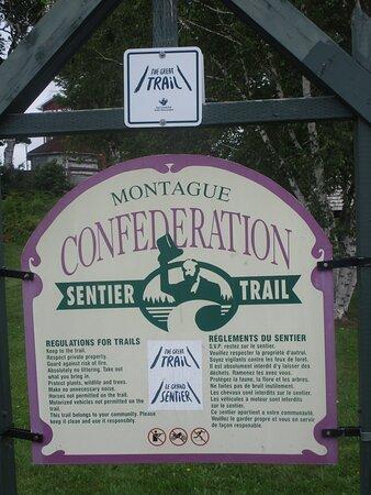 Montague Confederation Sentier Trail