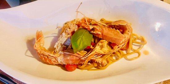 Spaghetti alle aragostelle