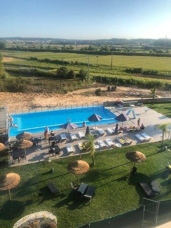 Este hotel não desilude e vale a pena pela piscina e o excelente spa!