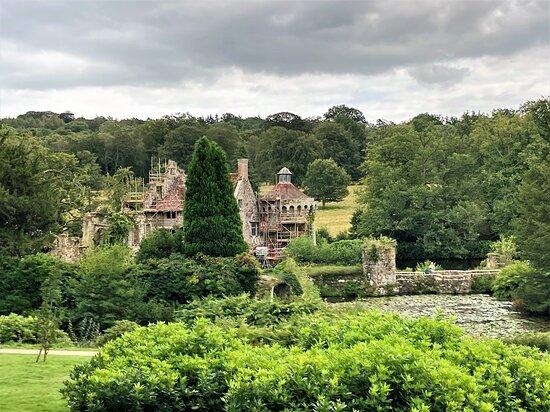 5.  Scotney Castle Garden, Scotney Castle, Lamberhurst, Kent
