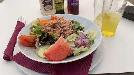 Arrival lunch - Tuna Salad.