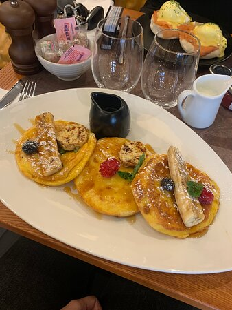 Fantastic food with impeccable service