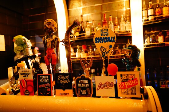 One Half of the  On Tap Beers .