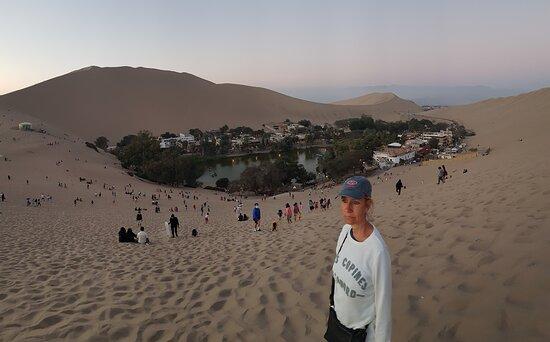 Huacachina (oasis au milieu du désert)