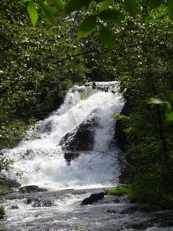 Millinocket, ME : Baxter State Park waterfalls!