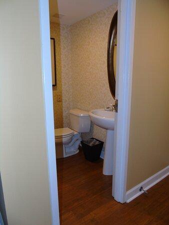 Presidential Suite  Downstairs bathroom