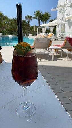 פורמטנרה, ספרד: Interni hotel e tramonto di Formentera