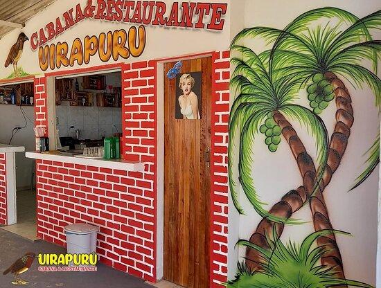 Cabana Uirapuru de cara nova! Vem pra cá 😎