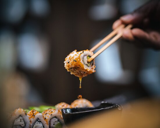 Great for the sushi lovers of London. Our Sushi is freshly prepared by our professional team. Not only do we have a great selection, but it's also incredibly fresh and flavorful, so you know that spices are not just added to enhance the cuisine; they're there to make your mouth water and keep you coming back for more. For those who want something different from their regular rolls, come see us because we've got some original ones with bold flavors too.