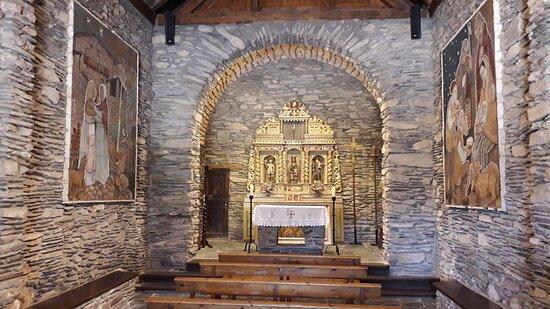 Santuari de la Mare de Deu de Canolic, Retablo