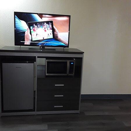 New furniture, TVs, etc.