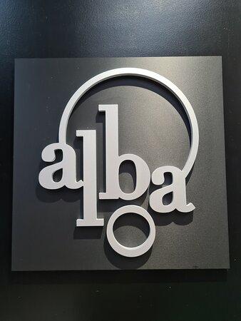 Logotipo alba restaurante