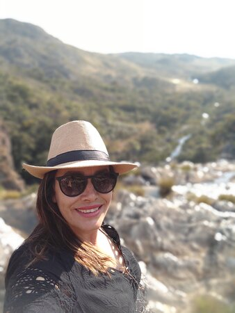 Vista da cachoeira da Capivara