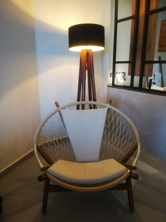 Un asiento muy cómodo para reposar y leer
