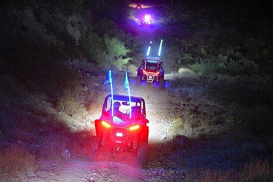 A UTV night ride held in San Manuel, Arizona.