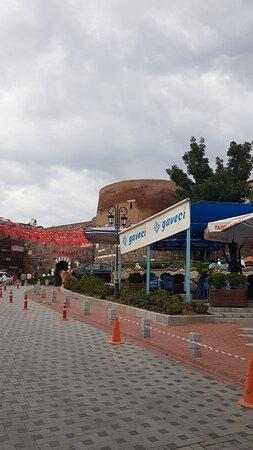 Ankara kalesi'nden görüntüler