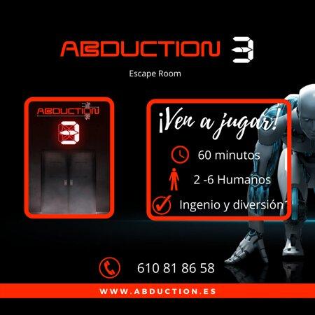 Si quieres jugar un escape room no dudes en venir a Abduction, reserva en www.abduction.es