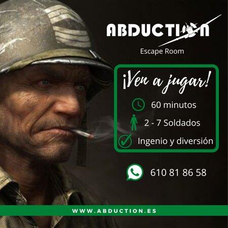 ¡Soldado te necesitamos a tí! www.abduction.es