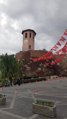 Ankara Kalesi manzaraları