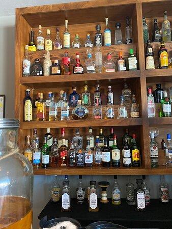 Xhale top-shelf bar