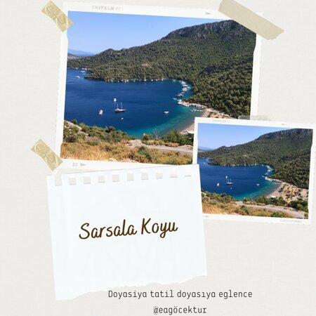 Göcek, Türkiye: SARSALA KOYU