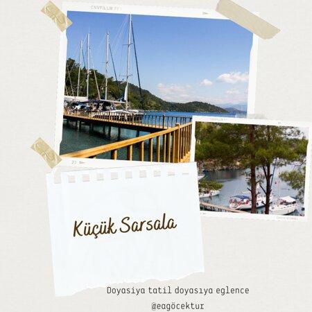 Göcek, Türkiye: KÜÇÜK SARSALA