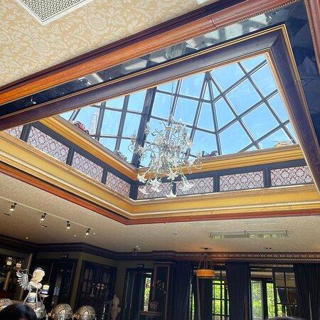 餐廳的窗景