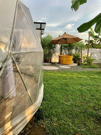 Quimbaya, Kolombiya: Glamping y ofuro