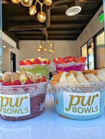 Custom build bowls