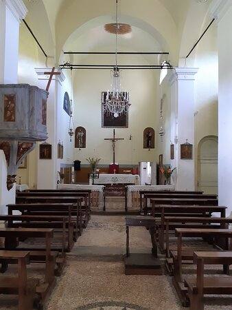 Granaglione, Ιταλία: interno ben conservato della  Chiesa di San Michele Arcangelo di Vizzero