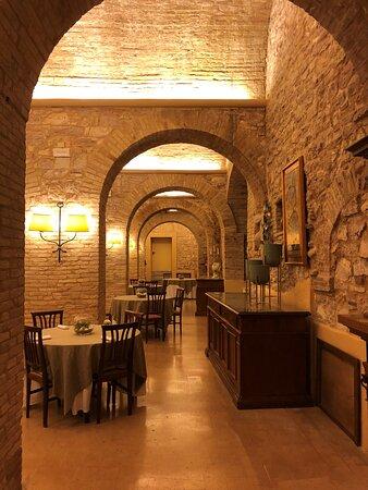 Sala del ristorante interna