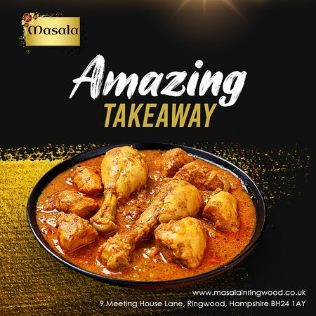 The takeaway you are going to order now is going to be amazing because it is from Masala Ringwood. 🤤 So order now and enjoy.  🚛 Express delivery goes right to your door.