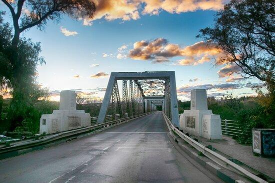 Aliwal North, South Africa: Bridge near the lodge