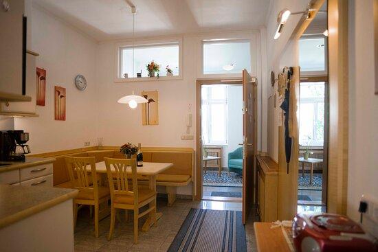 Appartement 50m² - Küche mit Essecke