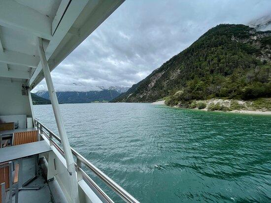 Rückreise von der Gaisalm mit dem Schiff