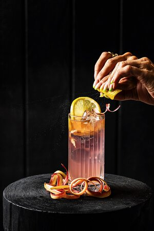 Pastoral life cocktail