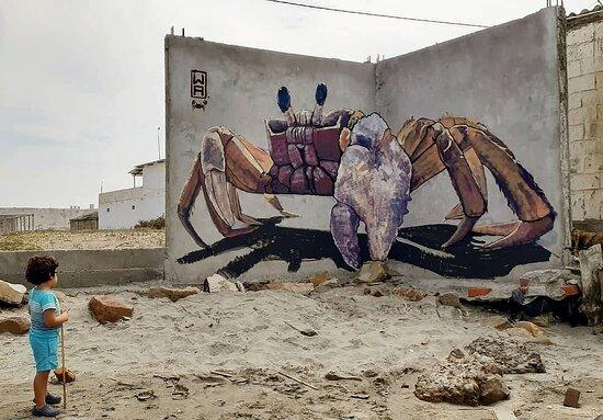 Colan, بيرو: Street Art 7