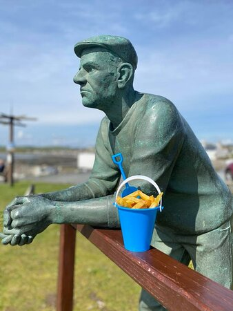 Even 'The Man' likes our chippy bucket